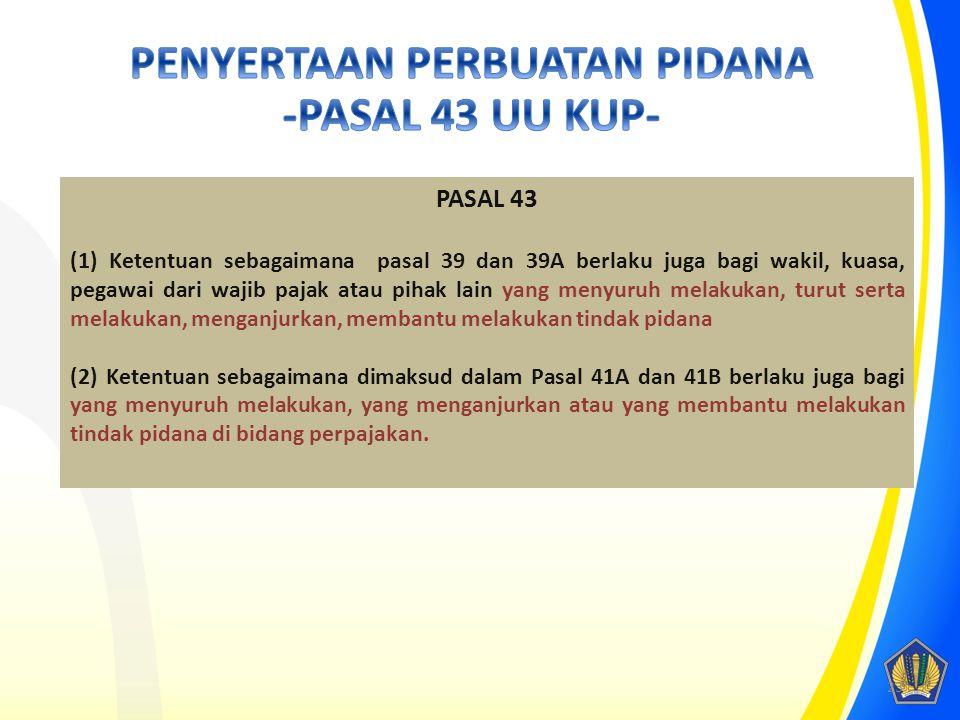 22 PASAL 35A Setiap instansi pemerintah, lembaga, asosiasi, dan pihak lain, wajib memberikan data dan informasi yang berkaitan dengan perpajakan kepad