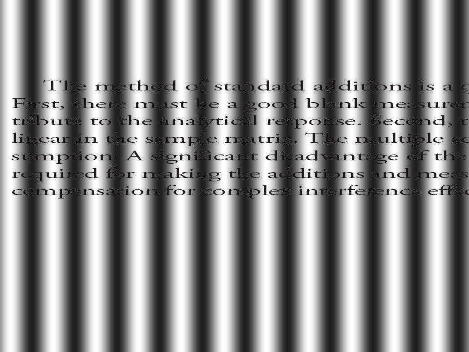 Single-Point Berikut ini adalah contoh metode standard adisi single-point