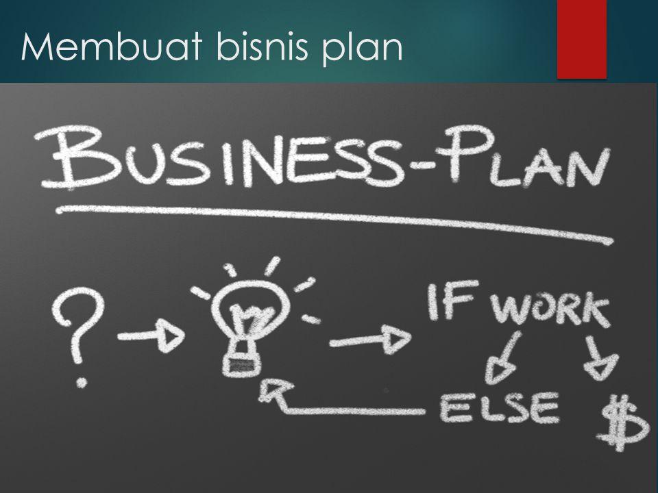 Membuat bisnis plan
