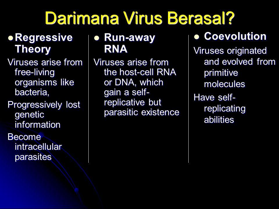 Darimana Virus Berasal.