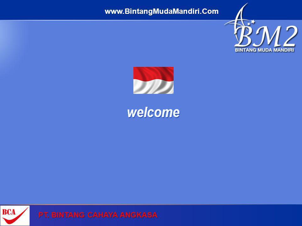 PT. BINTANG CAHAYA ANGKASA www.BintangMudaMandiri.Com