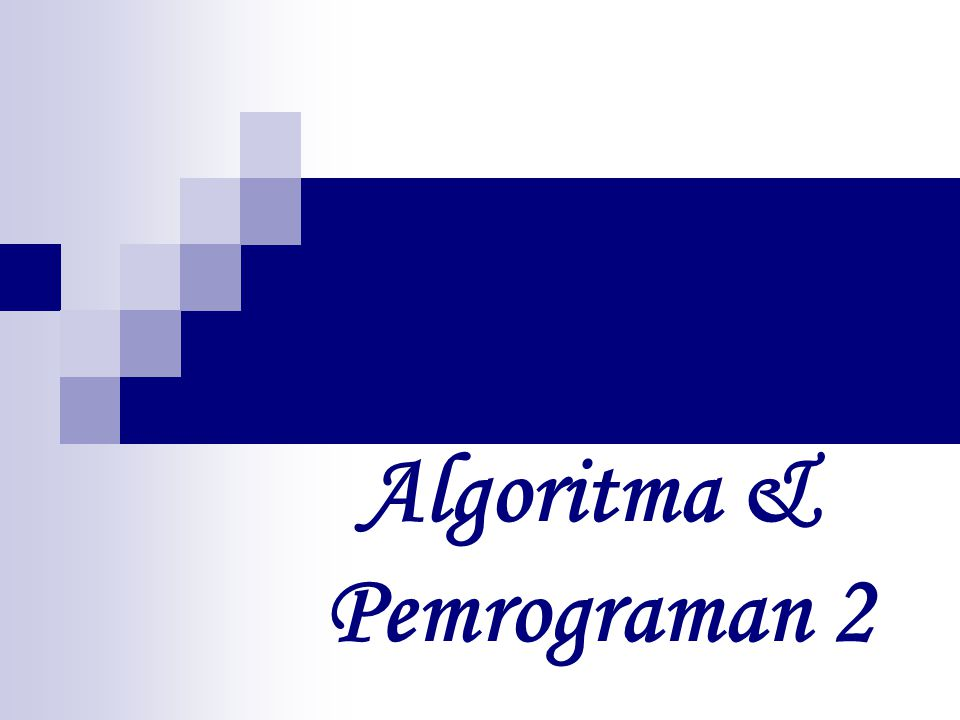 Di dalam algoritma, larik dinyatakan dengan awalan huruf kapital dan notasi [ ] dipakai untuk menyatakan data dalam larik.