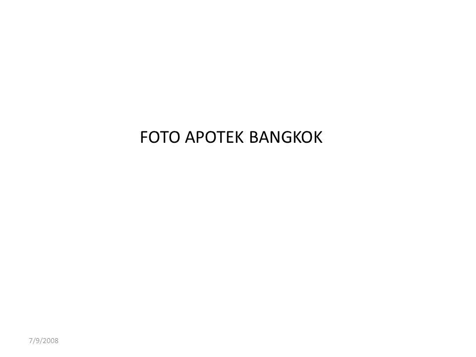 FOTO APOTEK BANGKOK 7/9/2008