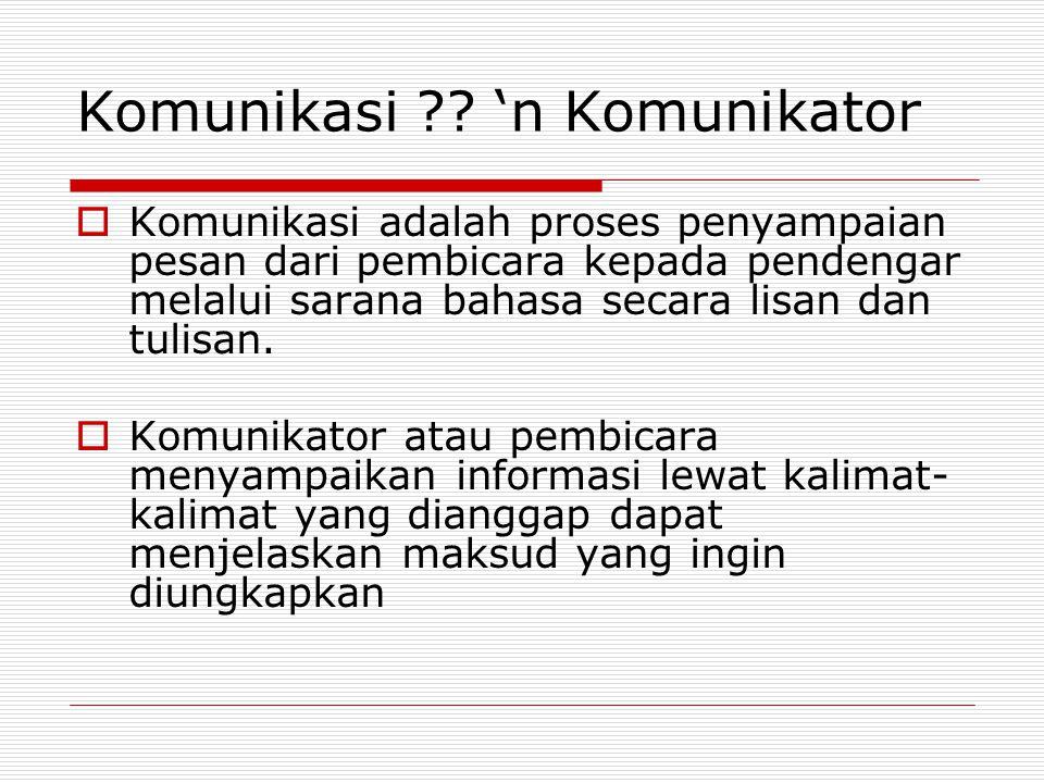 Syarat Kalimat yang baik dan komunikatif 1.Tidak menyimpang dari kaidah bahasa 2.Logis atau dapat diterima nalar 3.Jelas dan dapat menyampaikan maksud atau pesan dengan tepat