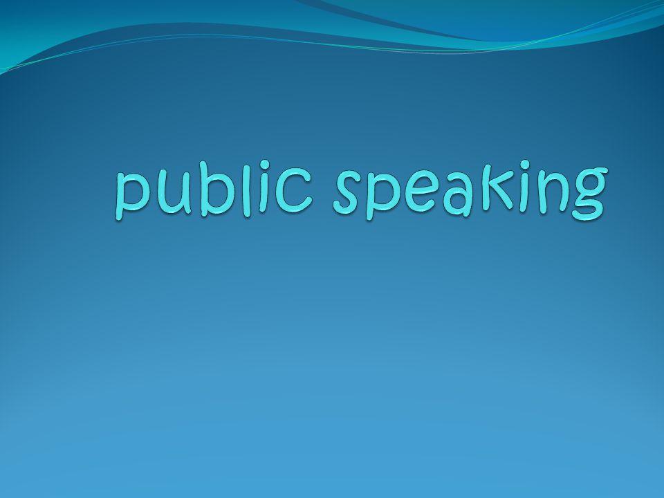 PUBLIC SPEAKING… pembicaraan tidak sekedar dipahami pembicaraan tidak sekedar asal'' atau yang penting'' disampaikan pembicaraan mengarah kepada bagaimana orang paham dan menikmati ibarat makanan, selain mengenyangkan dia juga lezat lezat saja tidak cukup, tampilan harus memikat