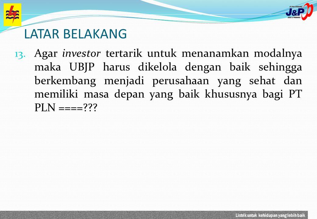 Listrik untuk kehidupan yang lebih baik PLN Jasa dan Produksi merupakan gabungan dari 4 unit bengkel yang dimiliki oleh PLN Distribusi Jakarta &Tangerang, Distribusi Jawa Barat dan Banten, Distribusi Jawa Tengah, Distribusi Jawa Timur dan 1 Bengkel Mesin Dayeuh Kolot (BMDK) yang dimiliki KJB.