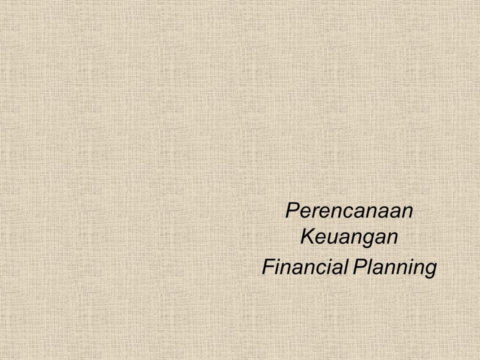 Perencanaan Keuangan Financial Planning