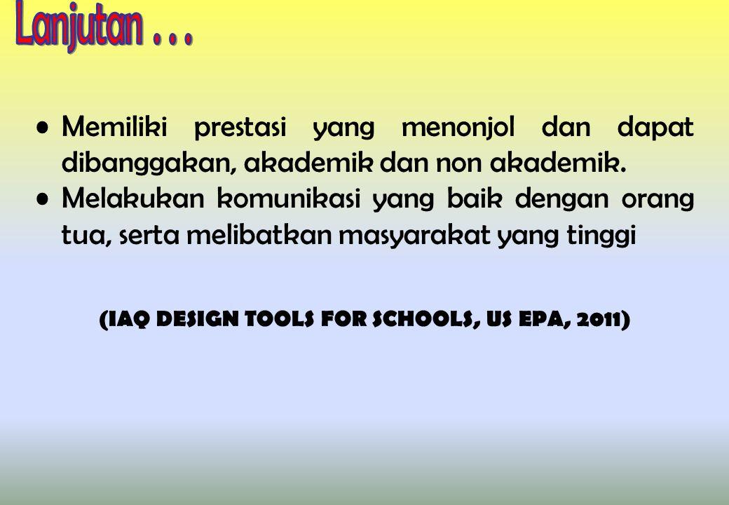 Memiliki prestasi yang menonjol dan dapat dibanggakan, akademik dan non akademik.