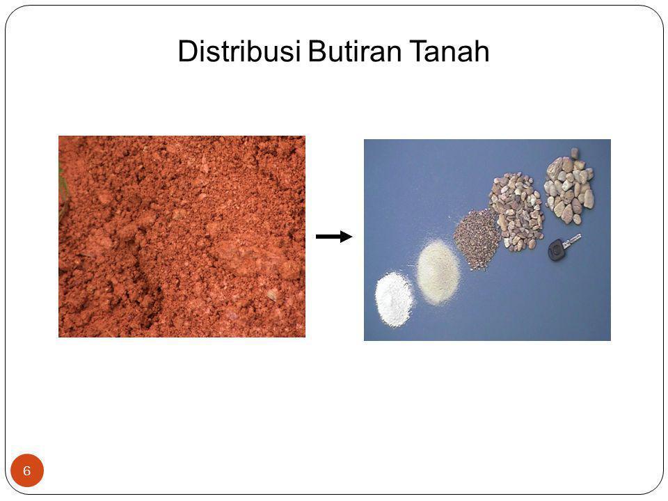 Distribusi Butiran Tanah 6