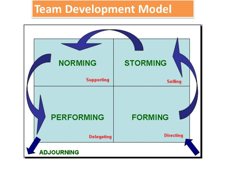 Team bertemu, belajar tentang opportunity dan challenges, kemudian setuju untuk suatu TUJUAN dan mengambil tugas masing masing.