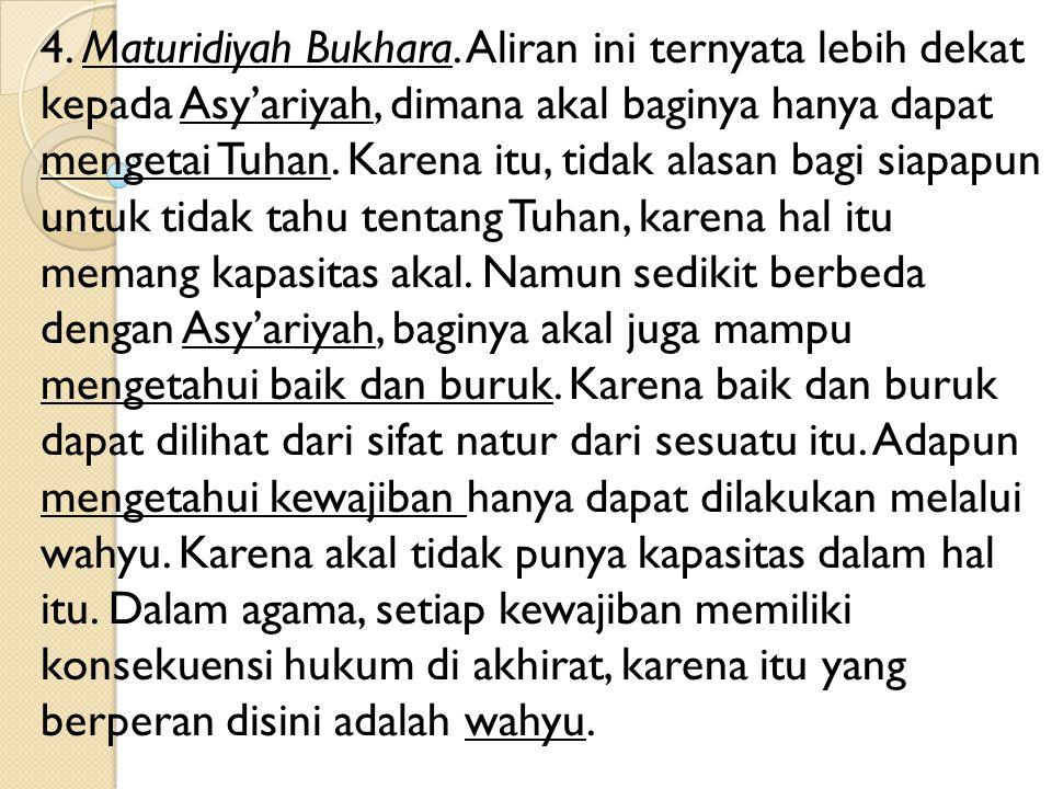 3.Maturidyah Samarkhan.