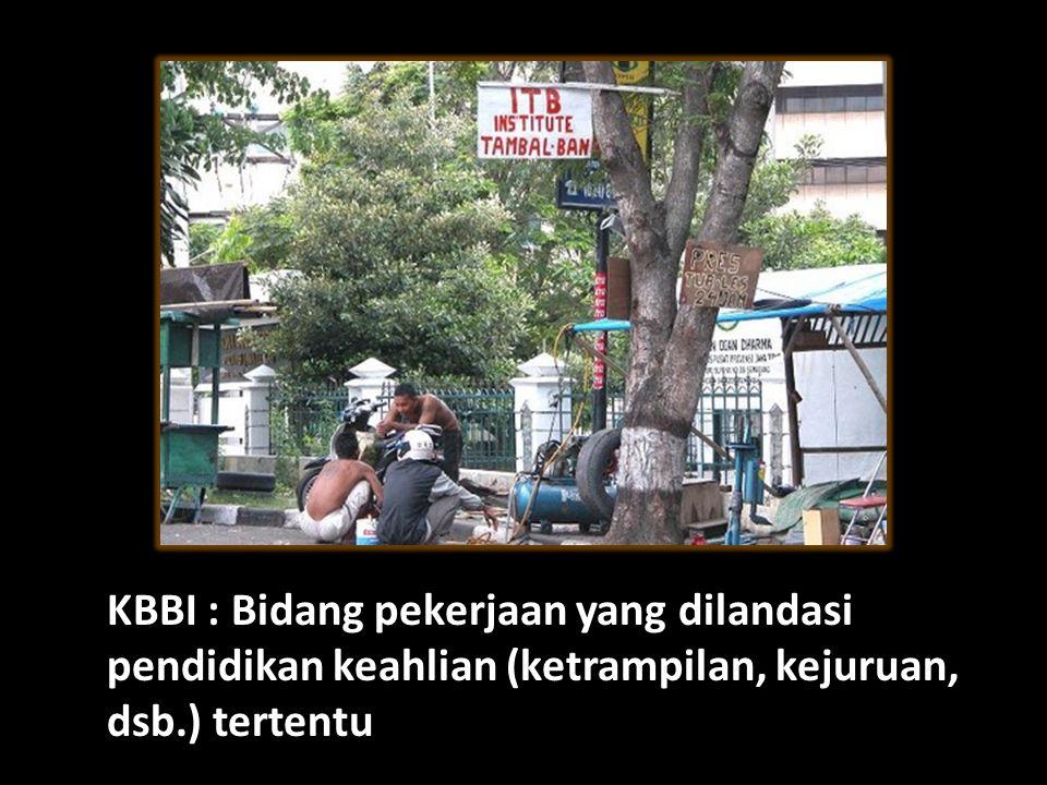 Pengertian Profesi KBBI : Bidang pekerjaan yang dilandasi pendidikan keahlian (ketrampilan, kejuruan, dsb.) tertentu