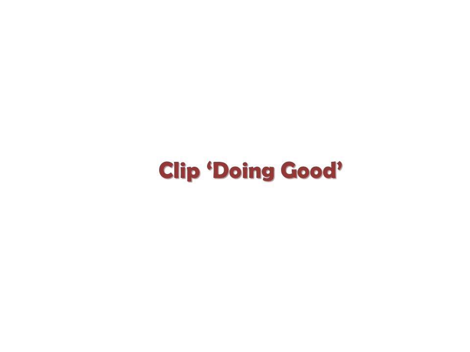 Clip 'Doing Good'