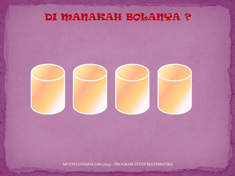 MULVI LUDIANA (0807615) - PROGRAM STUDI MATEMATIKA DI MANAKAH BOLANYA