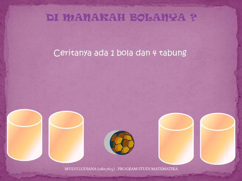 DI MANAKAH BOLANYA .