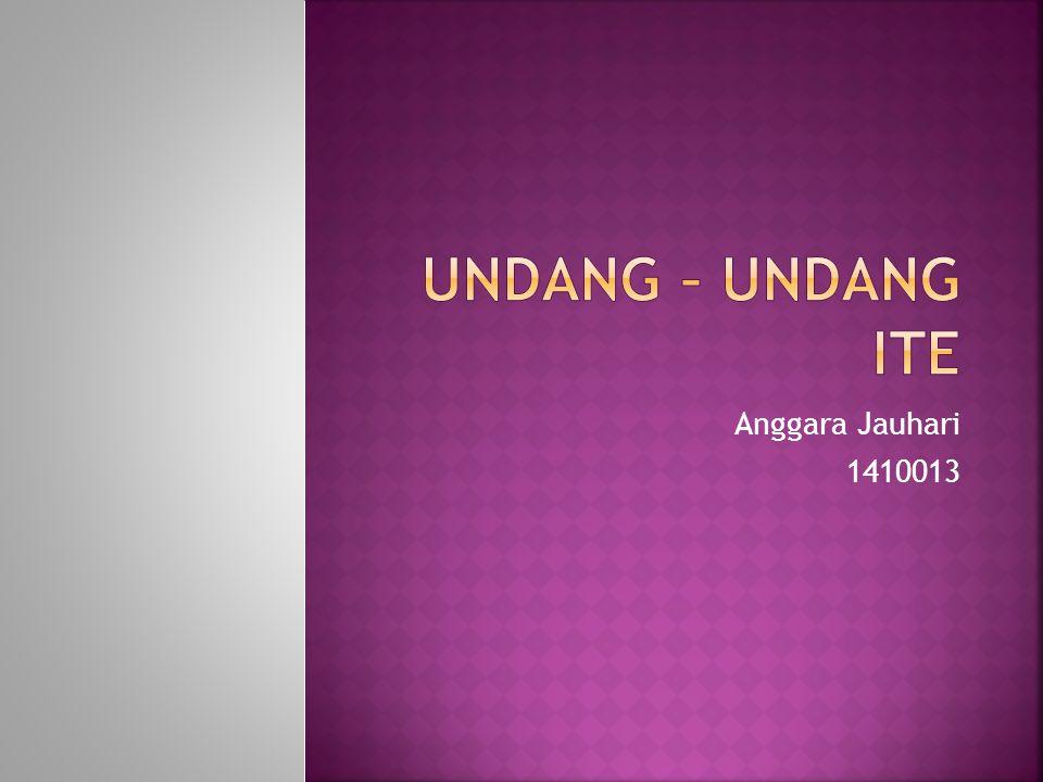 Anggara Jauhari 1410013