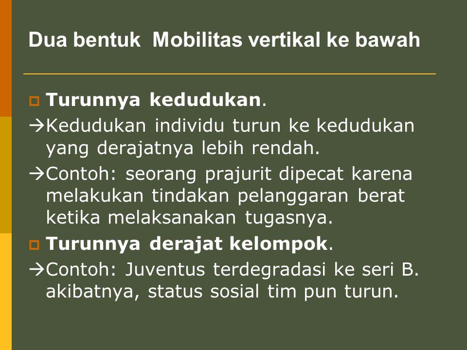 Faktor-faktor yang mempengaruhi mobilitas sosial 1.