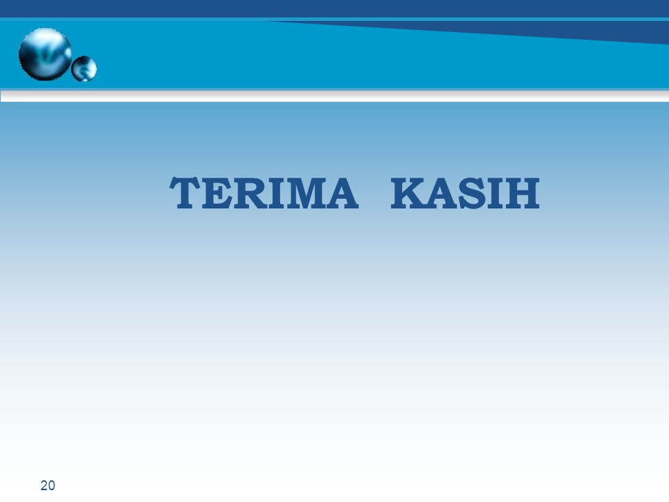 TERIMA KASIH 20