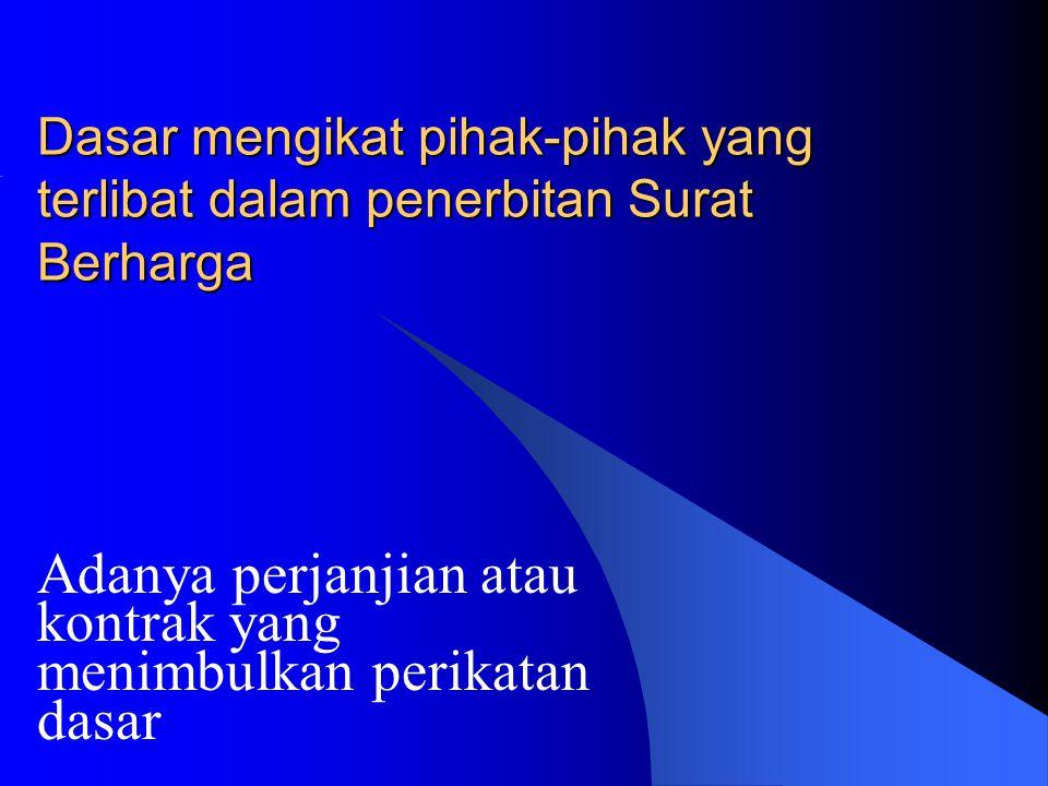 Surat Berharga menurut Isi Perikatannya 1.Surat-surat yang mempunyai sifat kebendaan.