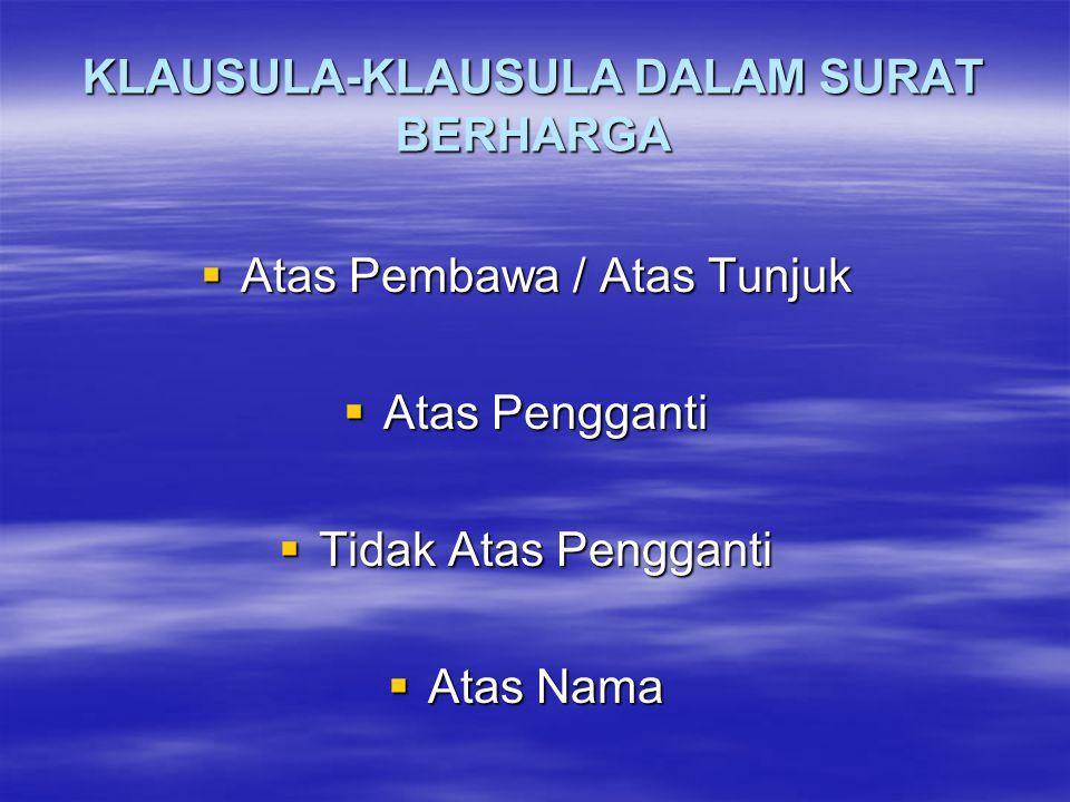 WESEL SESUDAH PENGLIHATAN Jakarta, 1 Maret 1978 Tiga bulan sesudah penunjukan surat wesel ini bayarlah kepada tuan Zidan atau penggantinya di Jakarta uang sejumlah Rp.