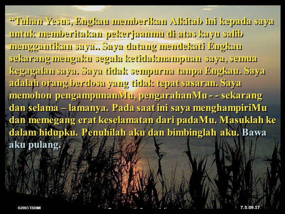 ©2003 TBBMI 7.5.09.