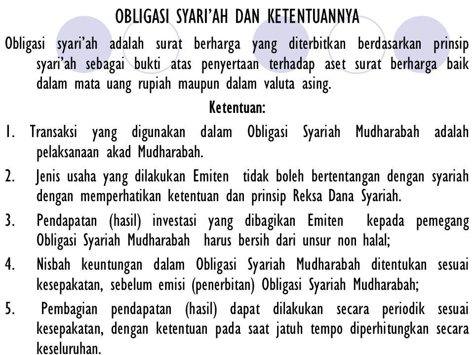SERTIFIKAT BANK INDONESIA (SBIS) 1.Bank Sentral dapat menerbitkan instrumen moneter berdasarkan prinsip syari'ah yang berupa SBIS untuk mengatasi kelebihan likuiditas bank syari'ah.