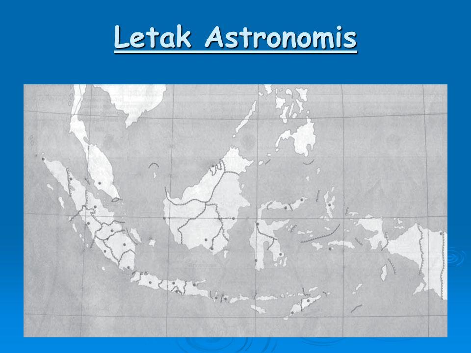 Letak Astronomis