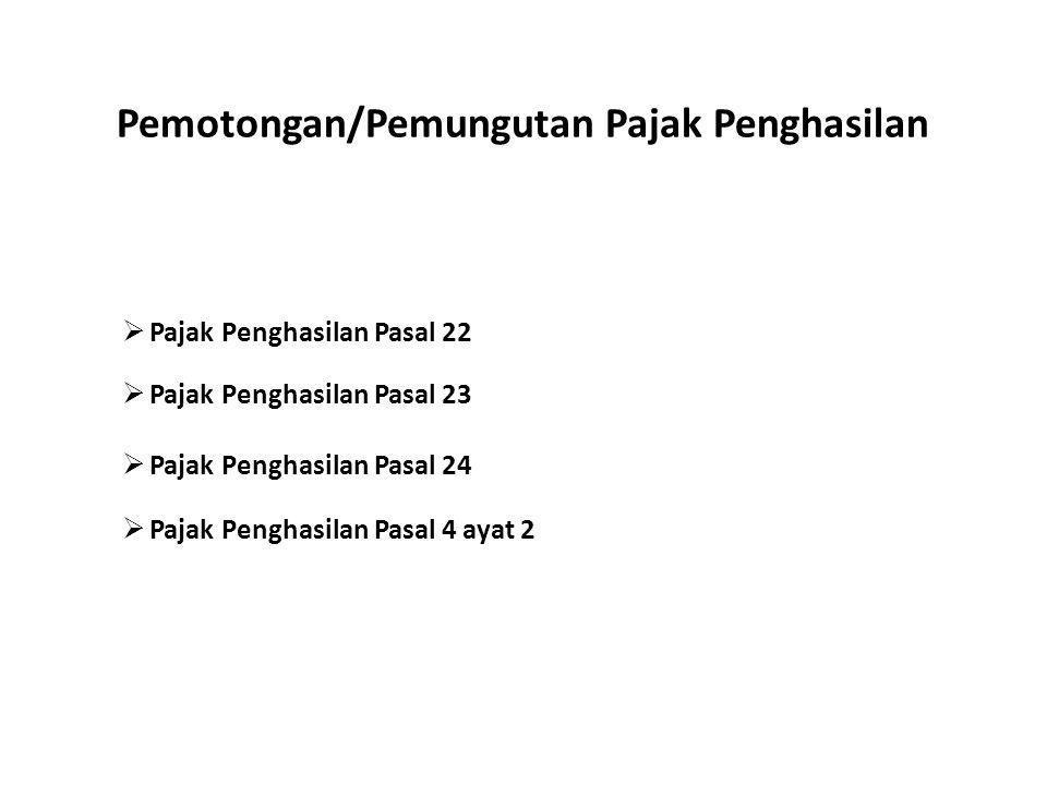 Pemotongan/Pemungutan Pajak Penghasilan Oleh Subhanzuhri Dalimunthe, SST., Ak.