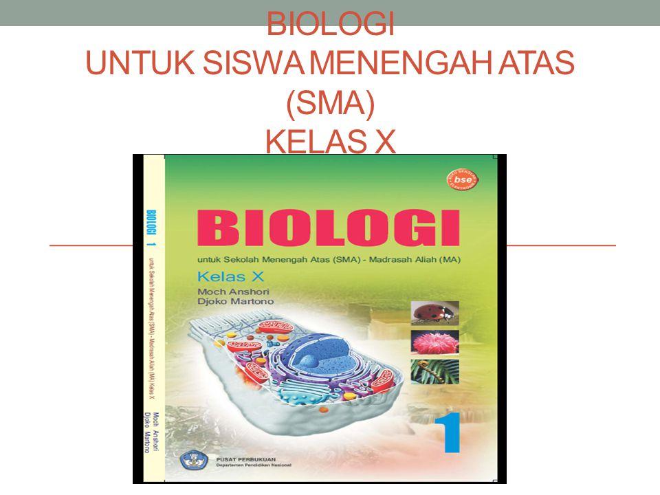 Stander kompetensi : Memahami hakikat Biologisebagai ilmu Kompetensi dasar : Mengidentifikasi ruang lingkup Biologi Mendeskripsikan objek dan permasalahanbiologi pada berbagai tingkat organisasi kehidupan (molekul, sel, jaringan, organ,individu, populasi, ekosistem, dan bioma