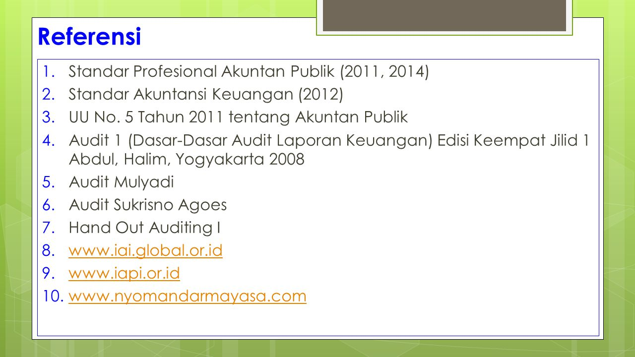 Certified Public Accountant (CPA) 1.