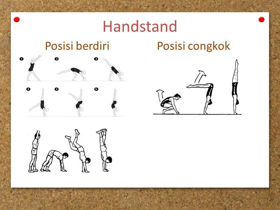 Handstand Posisi berdiriPosisi congkok