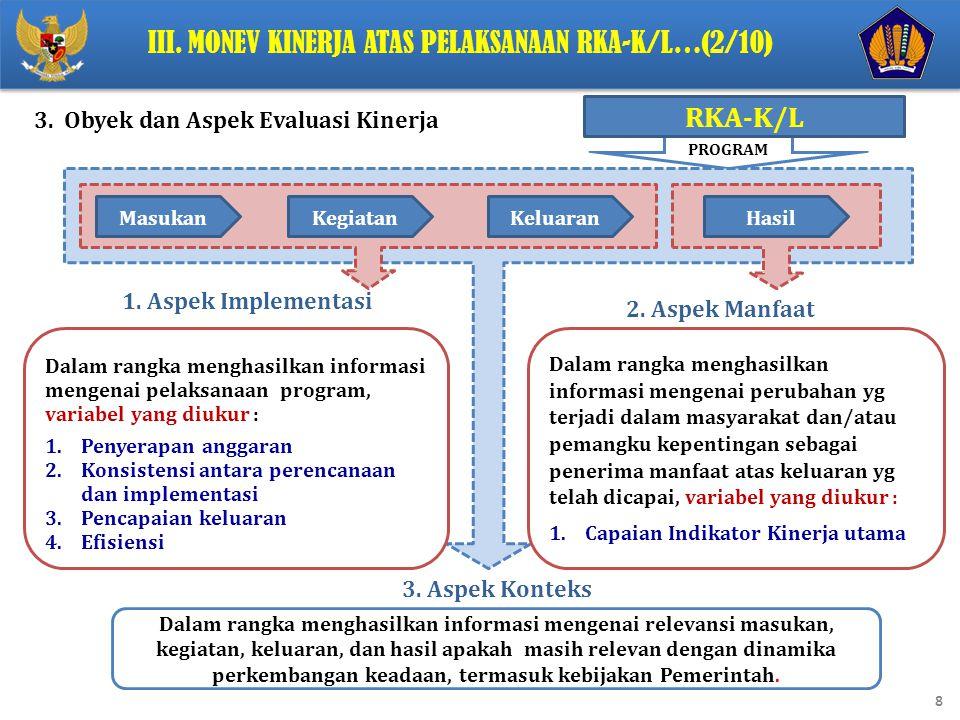 9 4.Tahapan kegiatan Evaluasi Kinerja..