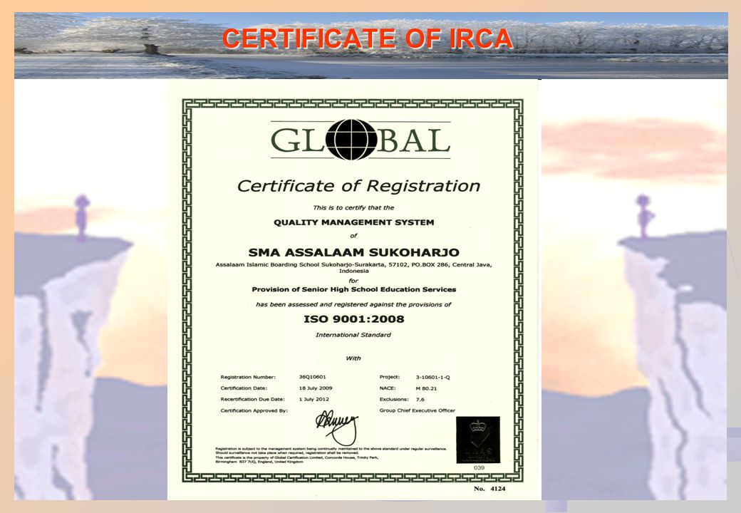 Persyaratan ISO 9001:2008 1.Ruang Lingkup 1.1.Umum1.2.Aplikasi 2.