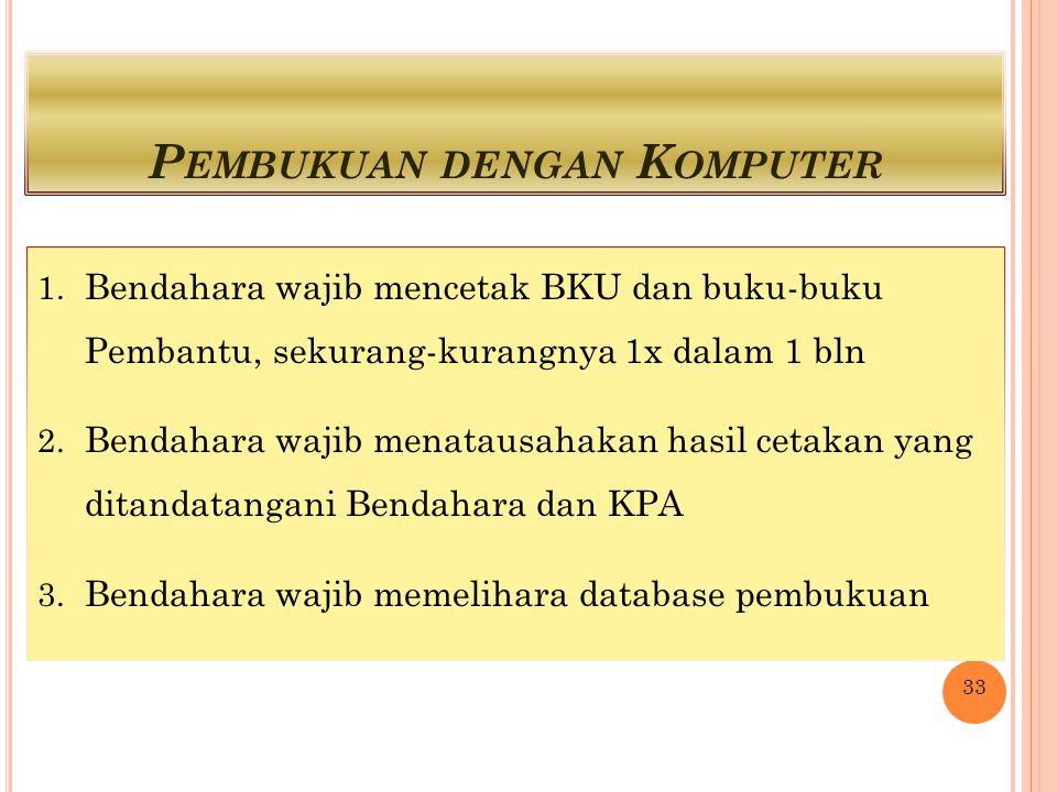 P EMBUKUAN DENGAN K OMPUTER 1.