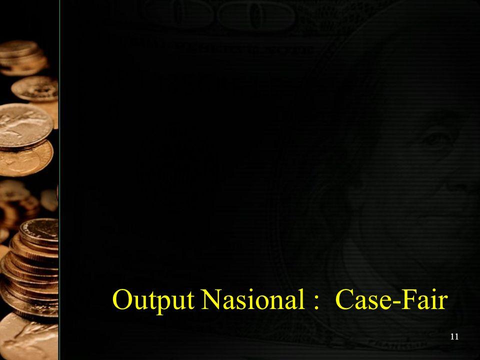 11 Output Nasional : Case-Fair