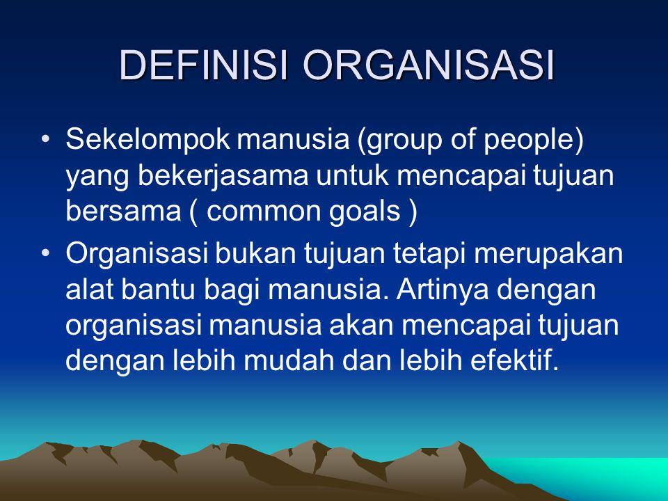 ORGANISASI SEBAGAI SISTEM BUDAYA Dalam Budaya Kerja, Organisasi dilihat sebagai Sistem Budaya. Organisasi dipahami sebagai sekumpulan orang yang memil
