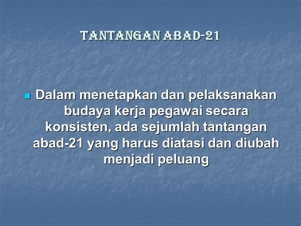 MENUJU INDONESIA BARU UPAYA MENGAKTUALISASIKAN CLEAN & GOOD GOVERNANCE Q = f ( u + c + d ) Q = Quality (kualitas) f = function (fungsi) u = understand