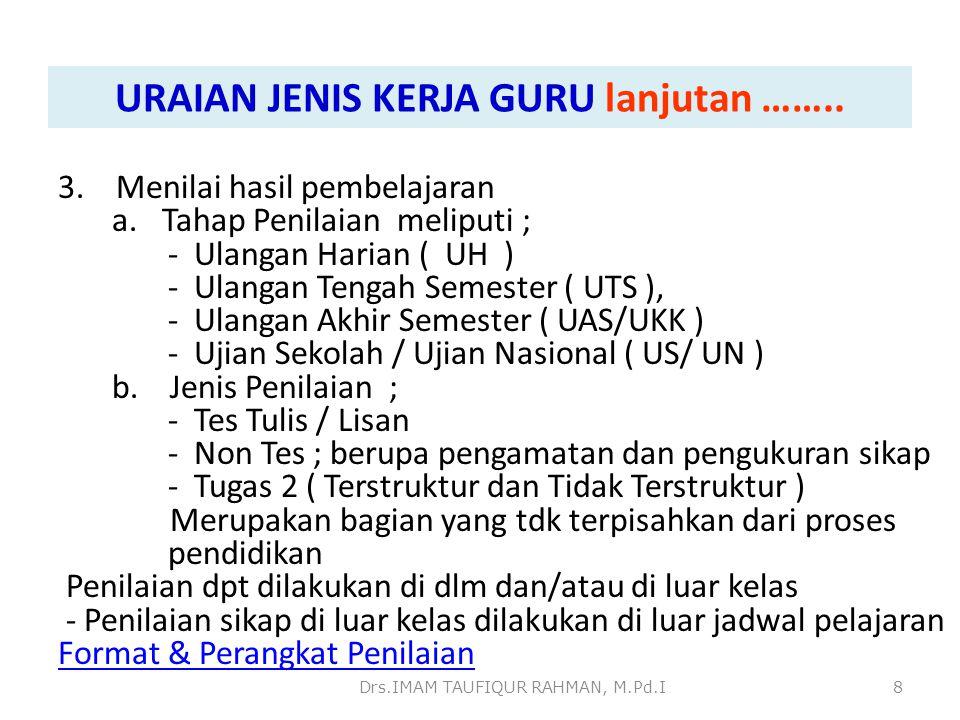4.Guru atas pertimbangan nasional, yaitu : a.Guru bertugas di sekolah Indonesia Luar negeri.