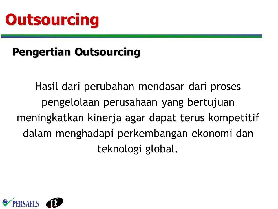 Dasar Hukum Dalam UU no 13.tahun 2003 tidak menyebutkan istilah Outsourcing .