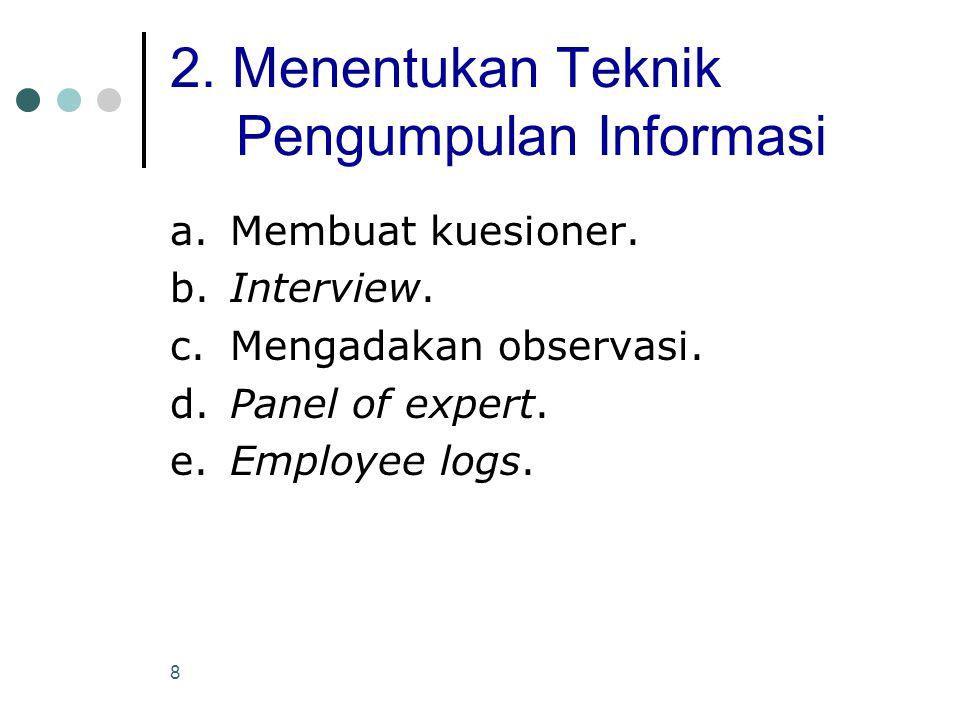 29 Perancangan Pekerjaan (Job Design) Perancangan pekerjaan atau desain pekerjaan merupakan fungsi penetapan kegiatan-kegiatan kerja seorang karyawan secara organisasional.