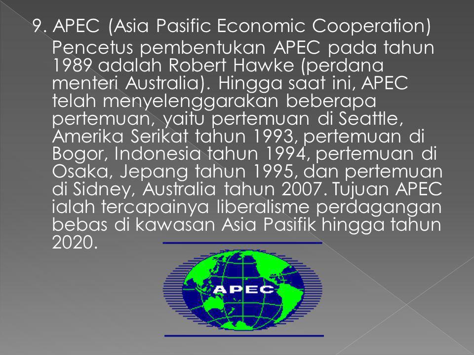8. ADB (Asian Development Bank) Organisasi ADB didirikan pada tanggal 19 Desember 1966 dan berpusat di Manila, Filipina. Tujuan dibentuknya ADB ialah