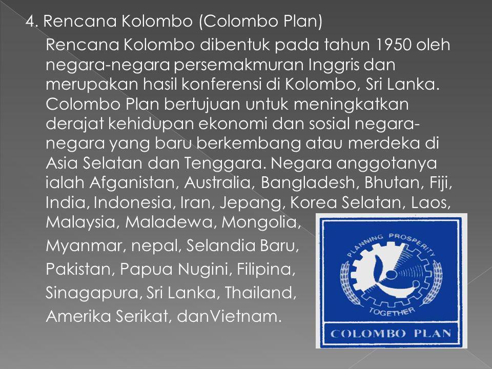 3. IDB (Islamic Develompment Bank) Organisasi IDB didirikan pada tanggal 20 Oktober 1975 dan bertujuan untuk membantu pembangunan ekonomi negara-negar