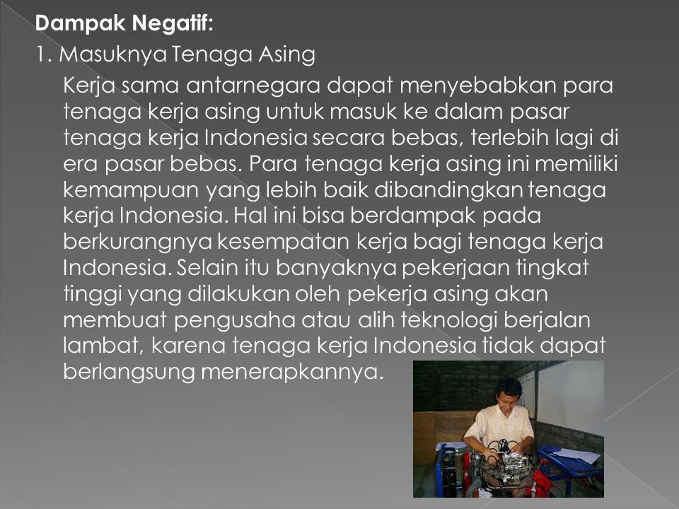 2. Peningkatan Produktifitas suatu negara Sebagai contoh pusat industri garmen di sekitar Karangjati, Kabupaten Semarang, Jawa Tengah. Sebelumnya, seb