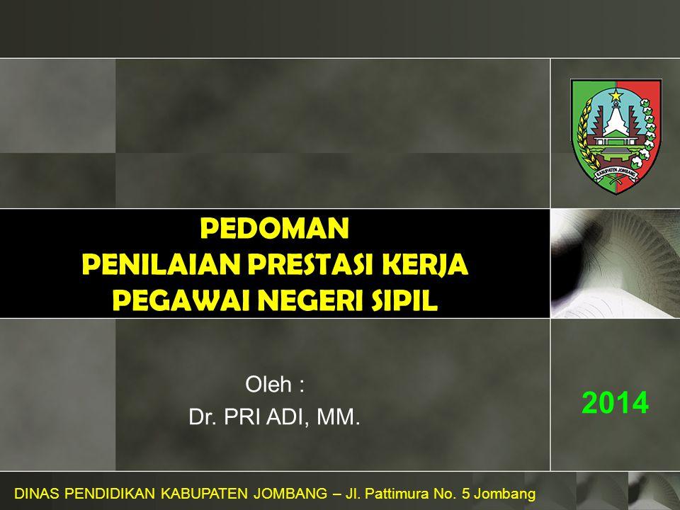 Perhitungan SKP....DINAS PENDIDIKAN KABUPATEN JOMBANG – Jl.