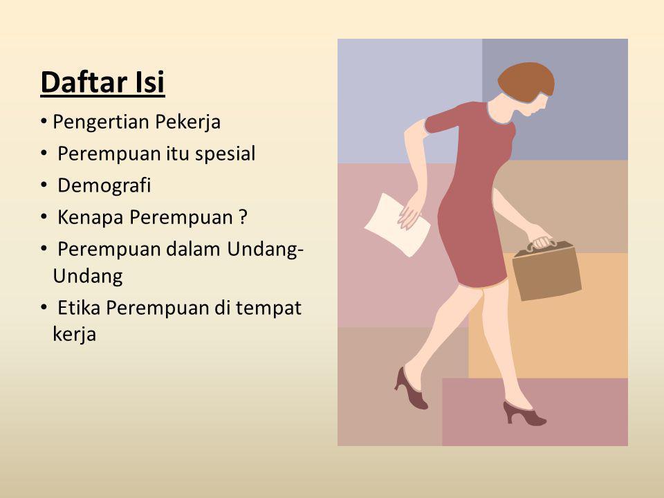 Pasal 76 (1) Pekerja/buruh perempuan yang berumur kurang dari 18 (delapan belas) tahun dilarang dipekerjakan antara pukul 23.00 sampai dengan pukul 07.00.
