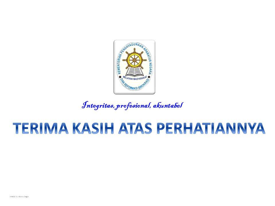 Integritas, profesional, akuntabel created by aba subagja