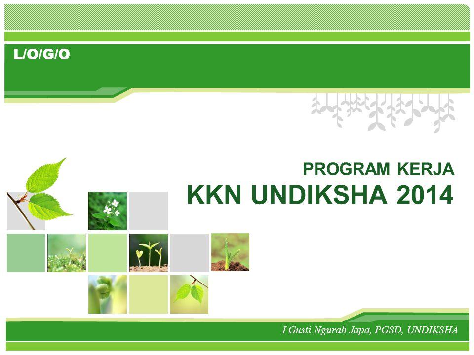 www.themegallery.com Isi Identitas (Desa, Kec, Kab) PROGRAM : 1, 2, 3..