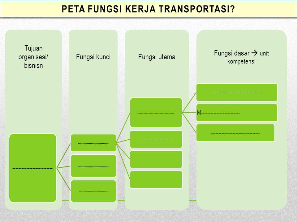 PEMETAAN FUNGSI TRANSPORTASI BISNIS transportasi ROAD TRANSPORT ROAD TRASPORT TRANSPORT AND DISTRBUTION LOGISTIC MANAGEMENT STEVEDORINGWAREHOUSING & S