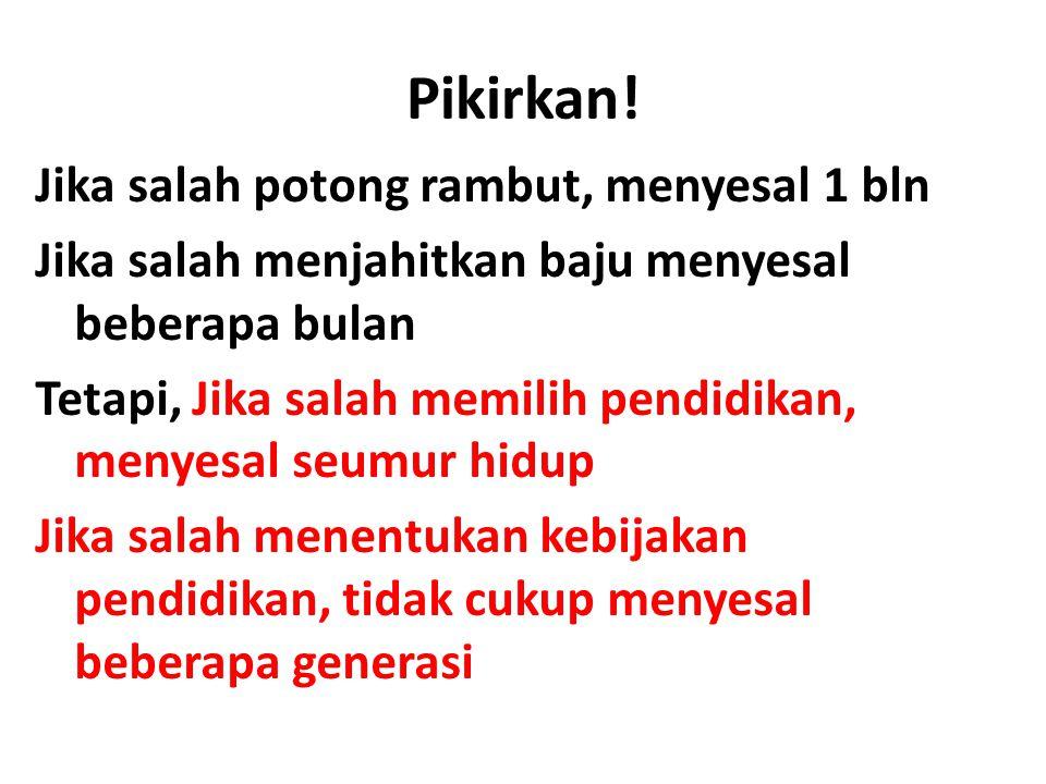 Pikirkan.