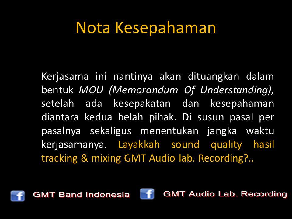 Just Listen Sound Quality : GMT AUDIO LAB. RECORDING